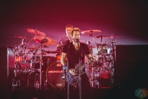 Chad Kroeger of Nickelback performs at the Metro Radio Arena in Newcastle, UK on October 25, 2016. (Photo: Andy Hudson/Aesthetic Magazine)