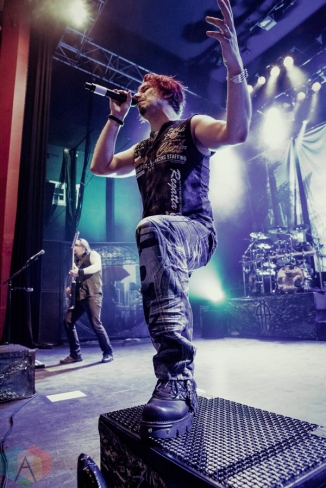 Sonata Artica performs at O2 Shepherd's Bush Empire in London, UK on October 15, 2016. (Photo: Rossi Ivanova/Aesthetic Magazine)