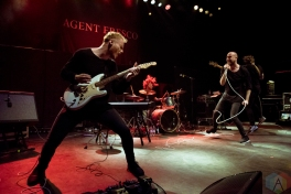 Agent Fresco performs at O2 Shepherd's Bush Empire in London, UK on October 21, 2016. (Photo: Rossi Ivanova/Aesthetic Magazine)