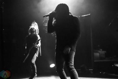 Katatonia performs at O2 Shepherd's Bush Empire in London, UK on October 21, 2016. (Photo: Rossi Ivanova/Aesthetic Magazine)