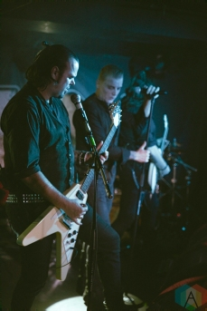The Vision Bleak performs at the Underworld in London, UK on October 24, 2016. (Photo: Rossi Ivanova/Aesthetic Magazine)