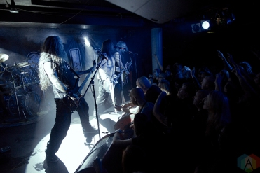 Pain performs at the Underworld in London, UK on October 24, 2016. (Photo: Rossi Ivanova/Aesthetic Magazine)