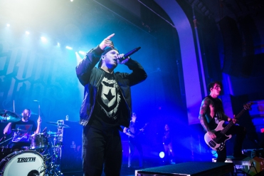 We Came As Romans performs at the Danforth Music Hall in Toronto on October 10, 2016. (Photo: Kelsey Giesbrecht/Aesthetic Magazine)