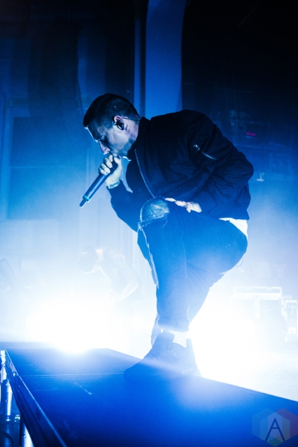 Parkway Drive performs at the Danforth Music Hall in Toronto on October 10, 2016. (Photo: Kelsey Giesbrecht/Aesthetic Magazine)