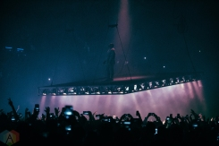 Kanye West performs at The Forum in Inglewood, California on October 26, 2016. (Photo: Andrew Gomez/Aesthetic Magazine)