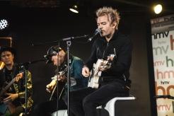 Sum 41 performs at HMV Underground in Toronto on October 18, 2016. (Photo: Kelsey Giesbrecht/Aesthetic Magazine)