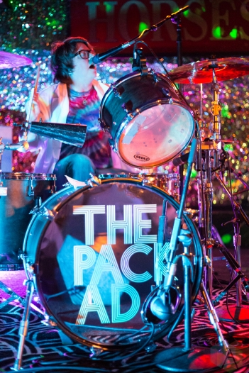 The Pack AD performs at the Horseshoe Tavern in Toronto on October 20, 2016. (Photo: Brendan Albert/Aesthetic Magazine)