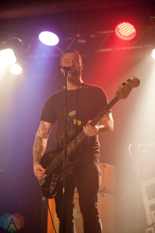 The Motorleague performs at Lucky Bar in Victoria, British Columbia on October 21, 2016. (Photo: Leanne Green/Aesthetic Magazine)