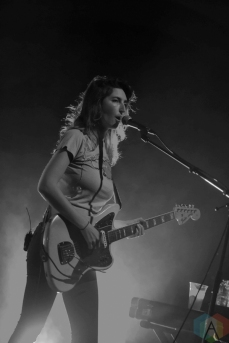 Warpaint performs at the Danforth Music Hall in Toronto on October 3, 2016. (Photo: Josh Ladouceur/Aesthetic Magazine)