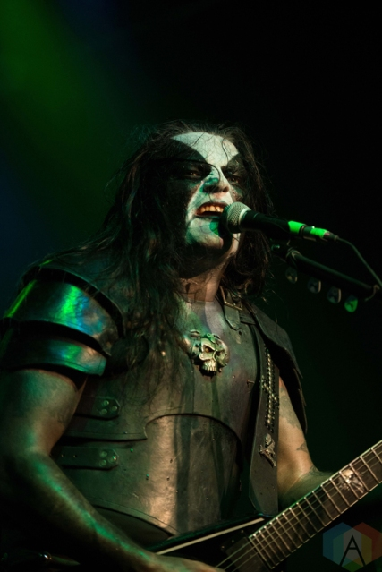 Abbath performs at the Phoenix Concert Theatre in Toronto on November 25, 2016. (Photo: Josh Ladouceur/Aesthetic Magazine)