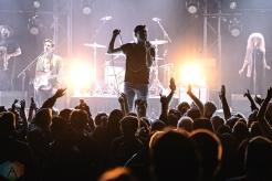 Arkells perform at Massey Hall in Toronto on November 4, 2016. (Photo: Francesca Ludikar/Aesthetic Magazine)
