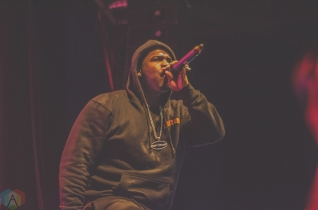 ASAP Ferg performs at the Phoenix Concert Theatre in Toronto on November 27, 2016. (Photo: Charito Yap/Aesthetic Magazine)