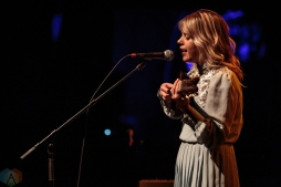 Basia Bulat performs at the Danforth Music Hall in Toronto on November 26, 2016. (Photo: David McDonald/Aesthetic Magazine)