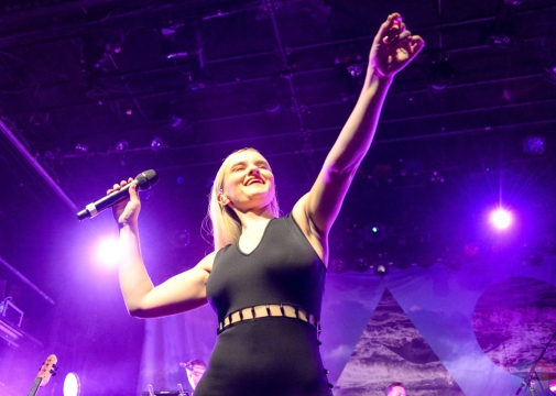 Clean Bandit performs at Irving Plaza in New York City on November 14, 2016. (Photo: Alx Bear/Aesthetic Magazine)