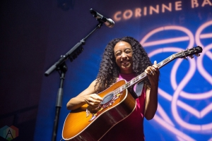 Corinne Bailey Rae performs at the Albert Hall in Manchester on November 5, 2016. (Photo: Gunnar Mallon/Aesthetic Magazine)