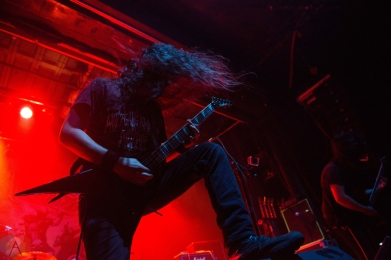 Exmortus performs at the Phoenix Concert Theatre in Toronto on November 25, 2016. (Photo: Josh Ladouceur/Aesthetic Magazine)