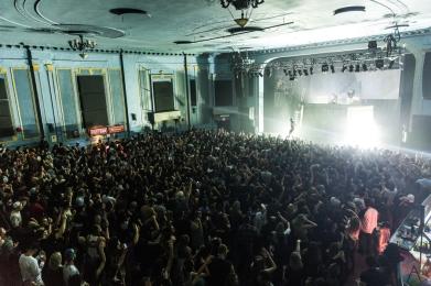 Flosstradamus performs at the Danforth Music Hall in Toronto on November 25, 2016. (Photo: Kelsey Giesbrecht/Aesthetic Magazine)