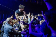 Foals performs at Rebel Nightclub in Toronto on November 7, 2016. (Photo: Katrina Lat/Aesthetic Magazine)