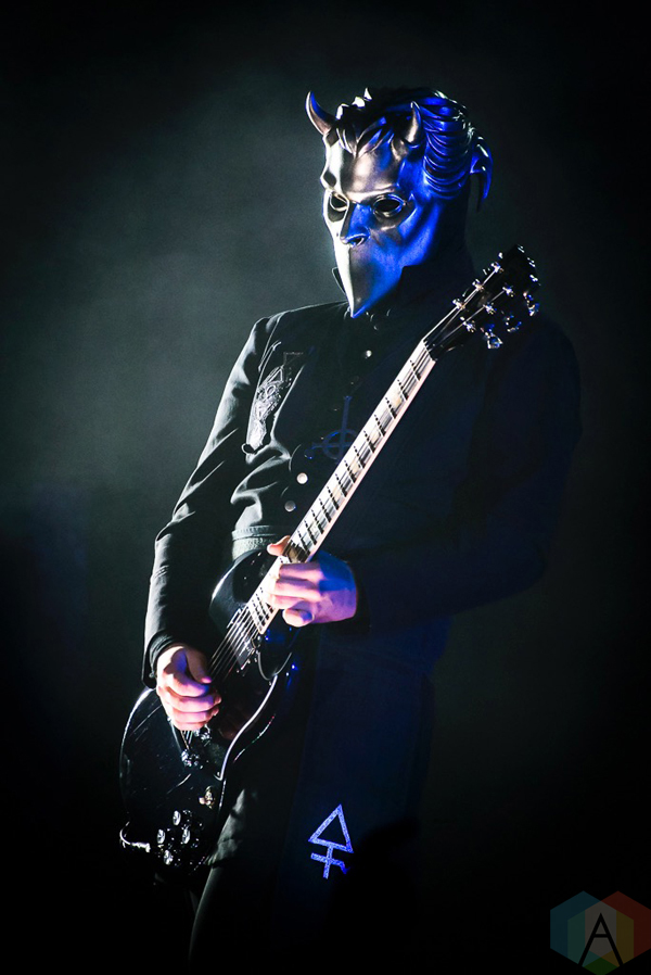 Ghost performs at the Queen Elizabeth Theatre in Toronto on November 9, 2016. (Photo: Angelo Marchini/Aesthetic Magazine)