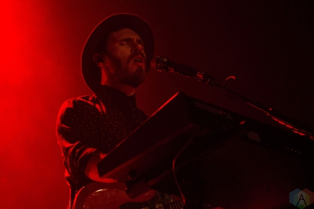 James Vincent McMorrow performs at the Phoenix Concert Theatre in Toronto on November 14, 2016. (Photo: Morgan Hotston/Aesthetic Magazine)