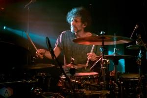Jojo Mayer / Nerve perform at the O2 Academy Sheffield in Sheffield, UK on November 4, 2016. (Photo: Gunnar Mallon/Aesthetic Magazine)