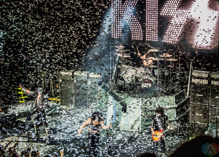 KISS performs aboard the The Norwegian Pearl during the 2016 Kiss Kruise. (Photo: Andrew Hartl/Aesthetic Magazine)