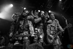 Lordi performs at the O2 Academy Islington in London, UK on November 20, 2016. (Photo: Rossi Ivanova/Aesthetic Magazine)
