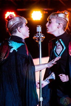 Lucius performs at the Cannery Ballroom in Nashville on November 2, 2016. (Photo: Cody Osen/Aesthetic Magazine)