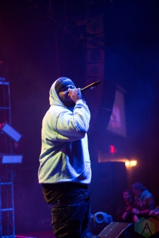Maxo Kream performs at the Town Ballroom in Buffalo, New York on November 3, 2016. (Photo: Josh Ladouceur/Aesthetic Magazine)