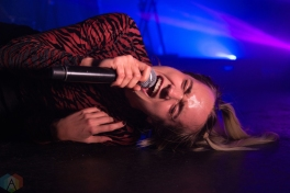 MØ performs at the Phoenix Concert Theatre in Toronto on November 29, 2016. (Photo: Morgan Hotston/Aesthetic Magazine)
