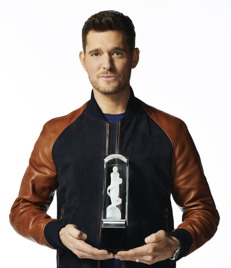 Michael Bublé, host of the 2017 Juno Awards.