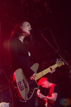 Mitski performs at The Mod Club in Toronto on November 3, 2016. (Photo: Janine Wong/Aesthetic Magazine)