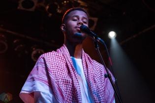 Mustafa performs at the Phoenix Concert Theatre in Toronto on November 14, 2016. (Photo: Morgan Hotston/Aesthetic Magazine)