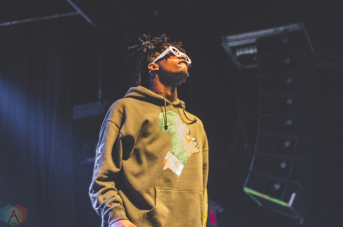 Playboi Carti performs at the Phoenix Concert Theatre in Toronto on November 27, 2016. (Photo: Charito Yap/Aesthetic Magazine)