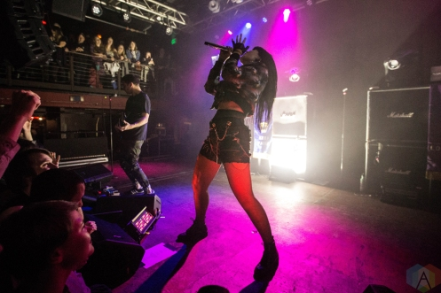 Sleigh Bells perform at Neumos in Seattle on November 19, 2016. (Photo: Daniel Hager/Aesthetic Magazine)