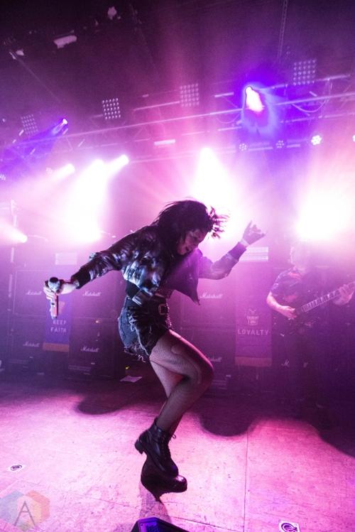Sleigh Bells perform at Neumos in Seattle on November 19, 2016. (Photo: Daniel Hager/Aesthetic Magazine)
