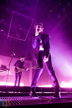 The 1975 perform at the Air Canada Centre in Toronto on November 3, 2016. (Photo: Brandon Newfield/Aesthetic Magazine)