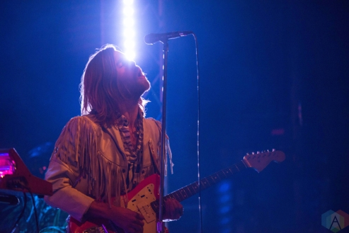 The Darcys perfom at the Phoenix Concert Theatre in Toronto on November 23, 2016. (Photo: Josh Ladouceur/Aesthetic Magazine)