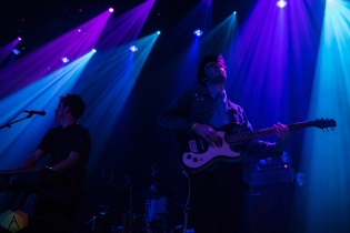 The Domestics perform at the Neptune Theatre in Seattle on November 26, 2016. (Photo: Kevin Tosh/Aesthetic Magazine)