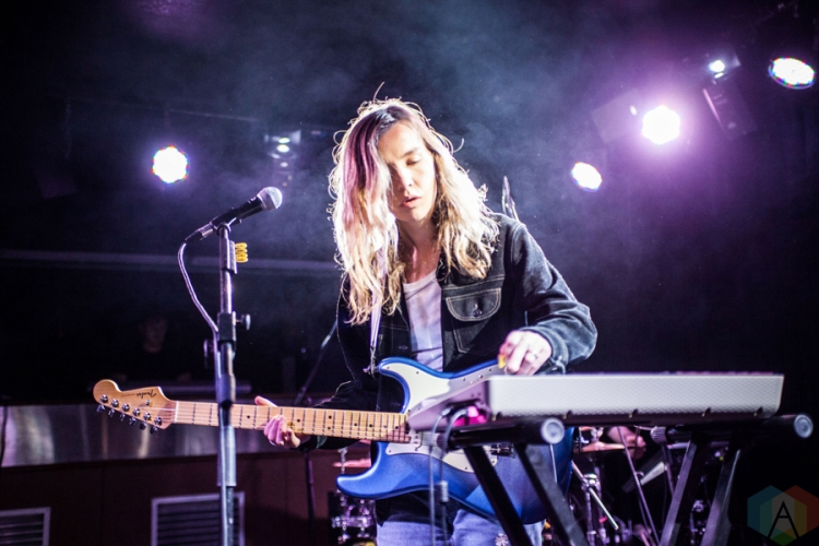 The Japanese House performs at the Club Academy in Manchester, UK on November 2, 2016. (Photo: Priti Shikotra/Aesthetic Magazine)