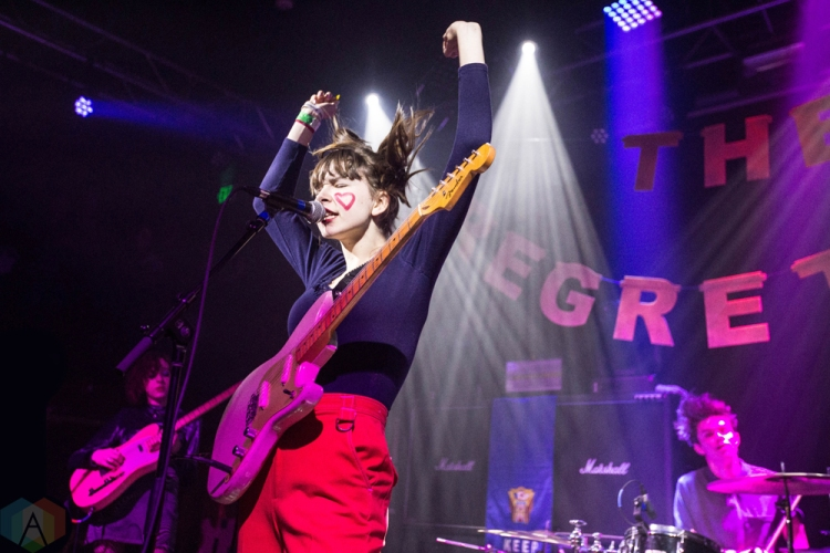 The Regrettes perform at Neumos in Seattle on November 19, 2016. (Photo: Daniel Hager/Aesthetic Magazine)