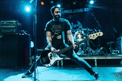 Useless ID performs at The Commodore Ballroom in Vancouver on November 4, 2016. (Photo: Timothy Nguyen/Aesthetic Magazine)
