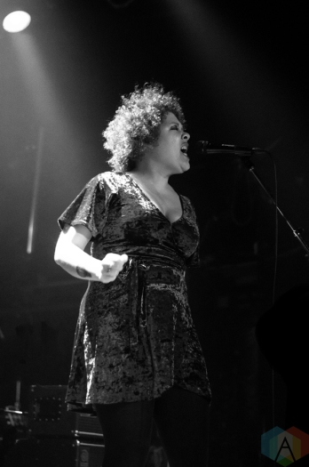 Weaves performs at The Mod Club in Toronto on November 3, 2016. (Photo: Janine Wong/Aesthetic Magazine)
