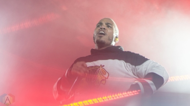 Anderson Paak performs at Reaction NYE at the Donald E. Stephenson Convention Center in Rosemont, IL on December 30, 2016. (Photo: Taylor Ohryn/Aesthetic Magazine)
