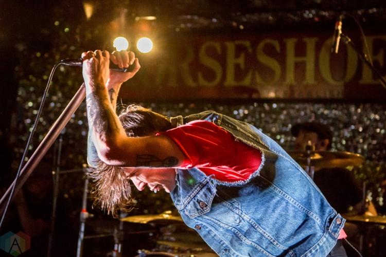 Billy Talent performing at the Horseshoe Tavern in Toronto on July 28, 2016. (Photo: Katrina Lat/Aesthetic Magazine)