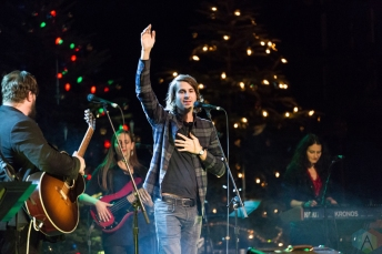 Bobby Bazini performs at the 2016 Andy Kim Christmas Concert at the Queen Elizabeth Theatre in Toronto on December 7, 2016. (Photo: Brendan Albert/Aesthetic Magazine)