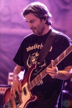 Clutch performs at the Danforth Music Hall in Toronto on December 30, 2016. (Photo: David McDonald/Aesthetic Magazine)