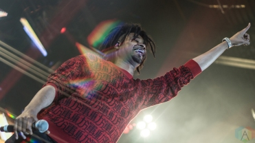 Danny Brown performs at Reaction NYE at the Donald E. Stephenson Convention Center in Rosemont, IL on December 30, 2016. (Photo: Taylor Ohryn/Aesthetic Magazine)