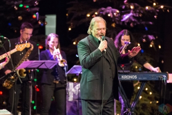 David Clayton-Thomas of Blood, Sweat and Tears performs at the 2016 Andy Kim Christmas Concert at the Queen Elizabeth Theatre in Toronto on December 7, 2016. (Photo: Brendan Albert/Aesthetic Magazine)