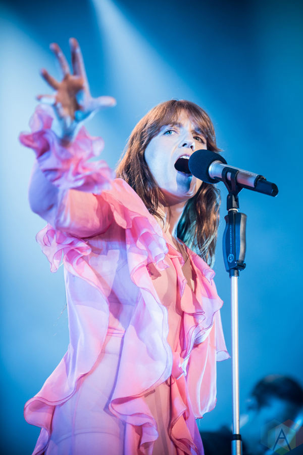 Florence And The Machine performs at the Molson Amphitheatre in Toronto on June 10, 2016. (Photo: Janine Van Oostrom/Aesthetic Magazine)
